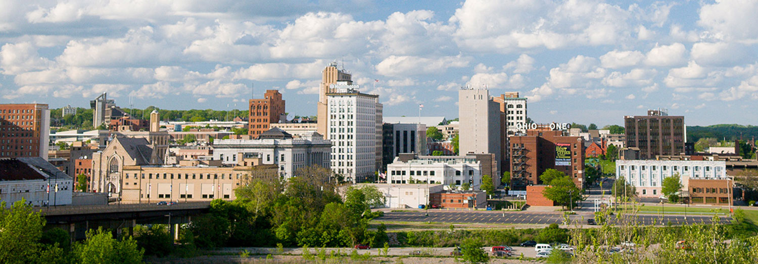Youngstown City Skyline